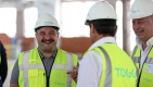 Bakan Varank TOGG'un üretim tesisi inşaatında #video