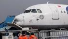 Hasar gören yolcu uçağı, hurdalıkta alıcı bekliyor