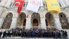 Tuğralar, PTT'NİN 181.yılında yeniden asıldı #video
