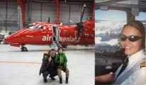 Air Grönland uçağı Maniitsoq havaalanı na iniş video