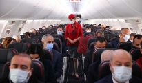 Bakan Çavuşoğlu Havalimanı çalışanları aşılayacağız video