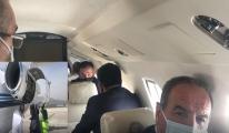 Bakan Pakdemirli uçakta yaşadıklarını anlattı