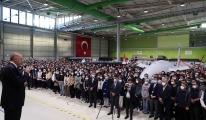 Cumhurbaşkanı Erdoğan BAYKAR fabrikasında video
