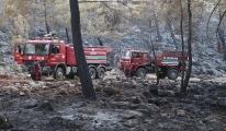 Fethiye de yerleşim yerinde yangın çıktı video