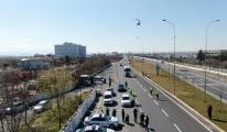 Helikopter ve dronlu denetimde 22 sürücüye ceza video