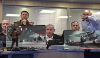 Netanyahu Gazze ye yönelik hava saldırısını bizzat yönetti