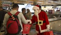Sabiha Gökçen de yolculara yıl başı hediyesi