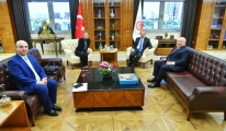 TAV dan Ticaret Bakanı Mehmet Muş u ziyaret