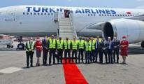 THY nin Afrika daki 61 inci uçuş noktası Luanda oldu