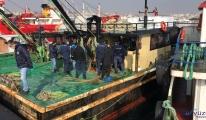Trolle kaçak avcılık yapan teknelere denetim