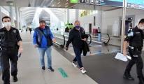 Uçakta maske takmadı para cezası kesildi video