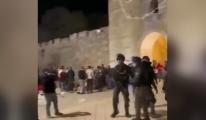 video İsrail savaş uçakları Gazze yi bombaladı