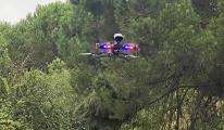 video Maltepe de drone destekli orman denetimi yapıldı