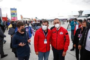 Bakan Kasapoğlu TEKNOFEST'i ziyaret etti #video