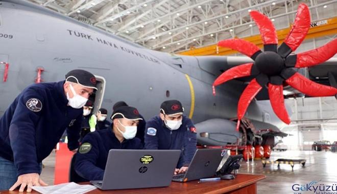A400M'nin retrofit faaliyetleri Kayseri'de yapılıyor(video)