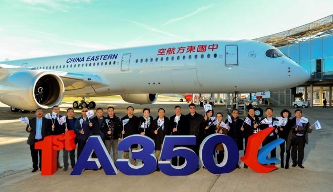 Airbus, Çin\'de yaptığı ilk A350 uçağını teslim etti