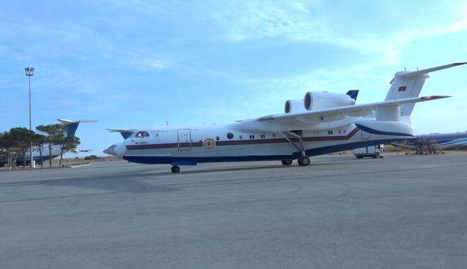Azerbaycan\'dan anfibi yangın söndürme uçağı