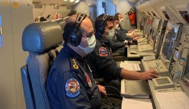 E-7T HİK NATO ülkesi hava sahasında uçuş yaptı(video)