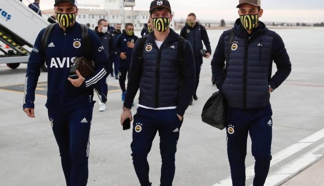 Fenerbahçe kafilesi Konya\'da(video)