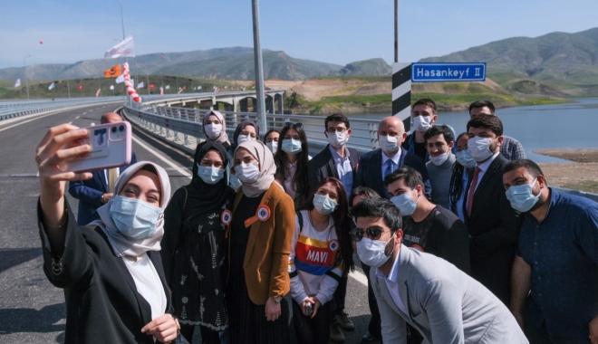 #Hasankeyf-2 Köprüsü hizmete alındı(video)