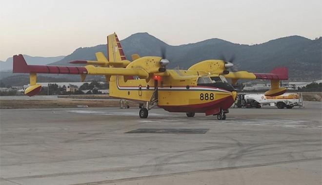 Hırvatistan\'dan gelen yangın uçağı Alanya-Gazipaşa\'ya indi