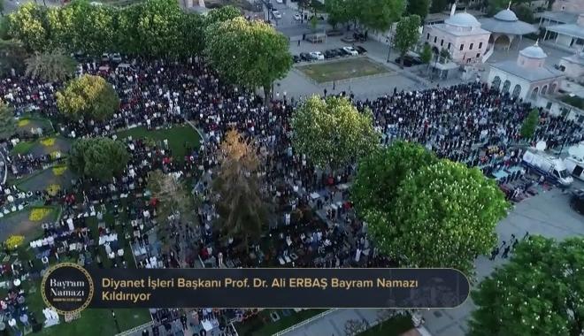 İstanbul\'da bayram namazı kılındı
