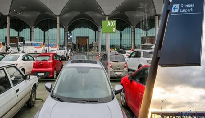 İstanbul Havalimanı otoparkında mobil ödeme avantajı