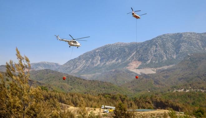 Manavgat\'taki büyük yangın 9\'uncu gün#video
