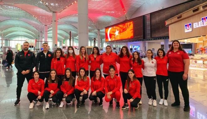 Olimpik Kadın Judo Milli Takımı Arnavutluk\'a gitti