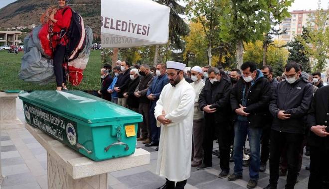 Paraşüt kazasında hayatını kaybeden Hila #video