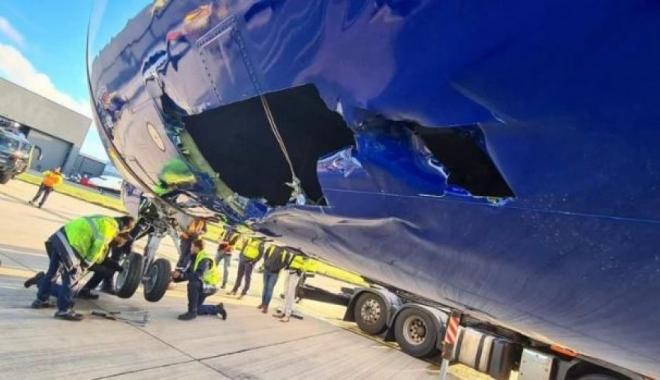 Ryanair Boeing 737-800 ciddi şekilde hasar gördü
