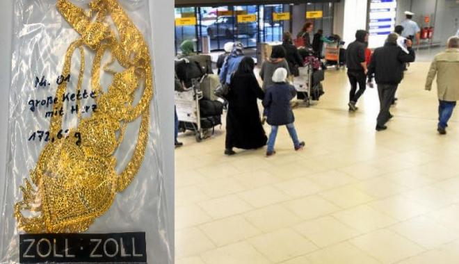 Türk yolcunun çorabından 40 bin euroluk altın çıktı