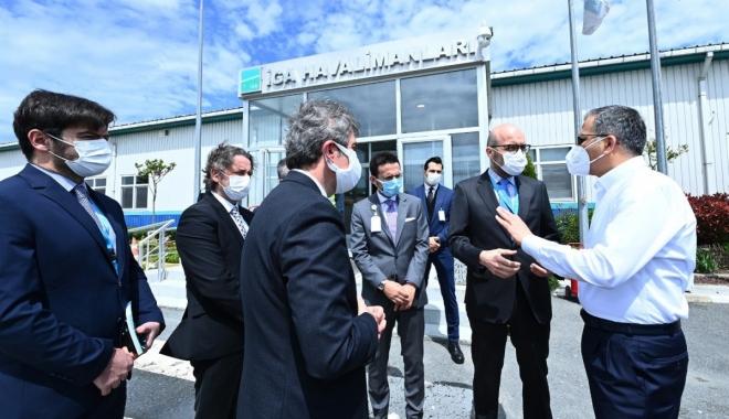 Vali Ali Yerlikaya İstanbul Havalimanı\'da
